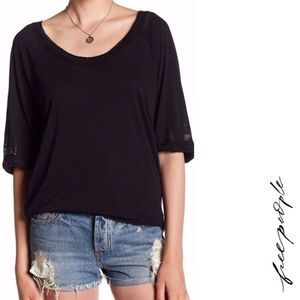 We The Free Distressed Burnout Oversized T-Shirt
